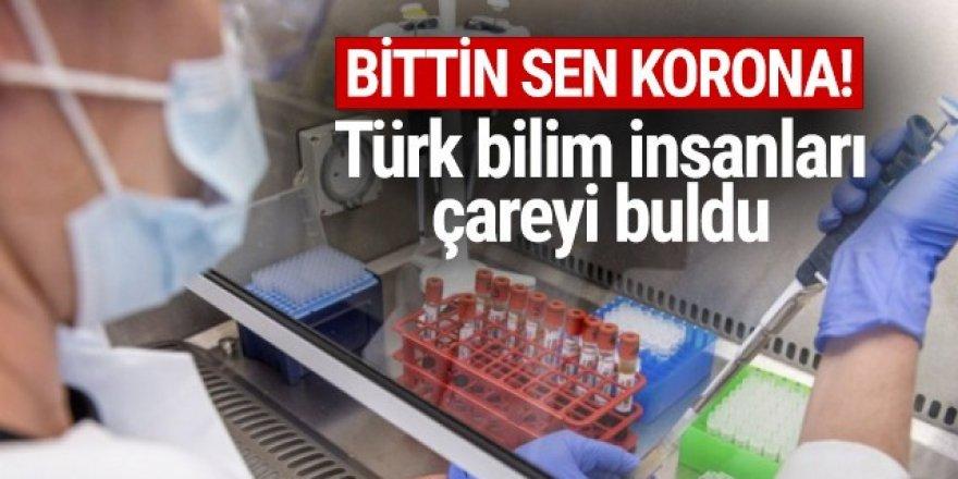 Türk bilim insanları koronavirüse çare buldu!