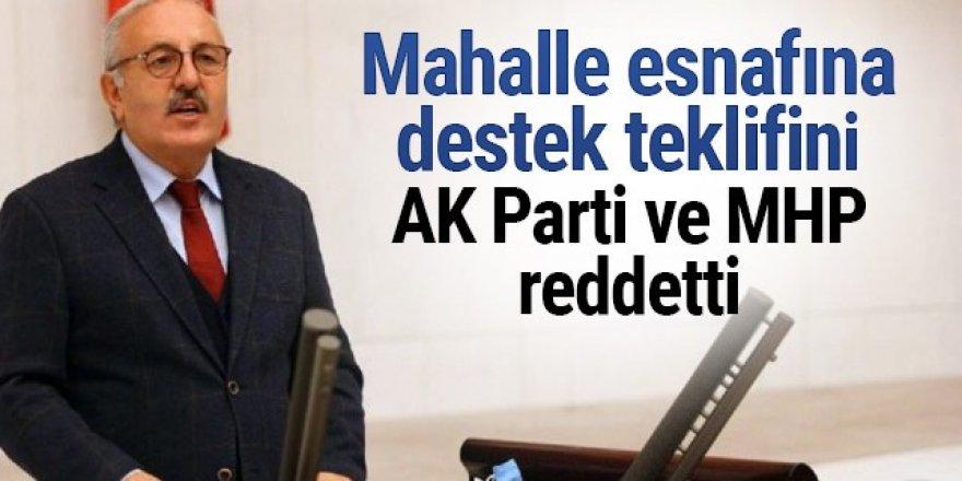 İYİ Parti'nin mahalle esnafına destek teklifi Cumhur İttifakı tarafından reddedildi