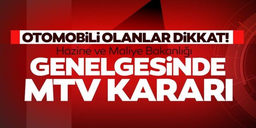 Bakanlık Genelgeyi gönderdi! İşte MTV kararı...