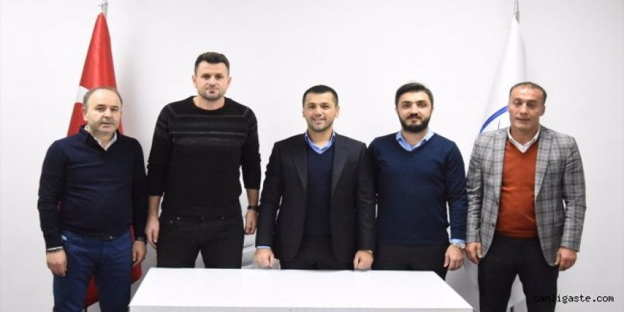 BB Erzurumspor'da Hüseyin Cimşir  ile sözleşme imzaladı