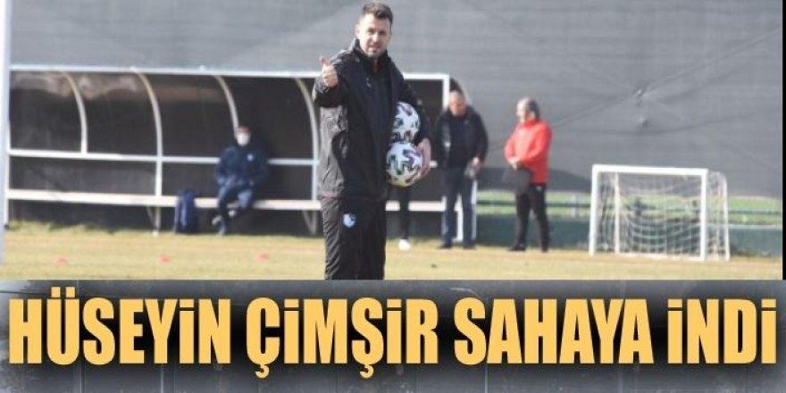Çimşir, Erzurumspor'da ilk antrenmanına çıktı