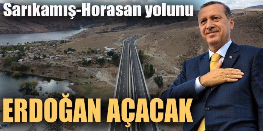 Erdoğan Sarıkamış-Horasan yolunun açılışını yapacak