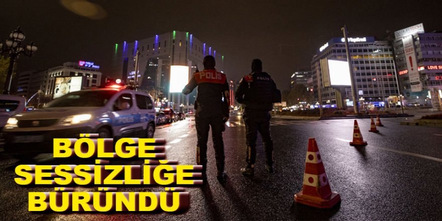 """Doğu Anadolu'da """"sokağa çıkma kısıtlaması"""" sessizliği"""
