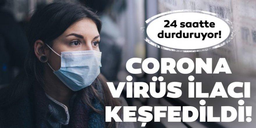 Koronavirüs (Kovid-19) bulaşıcılığını engelleyen ilaç bulundu!