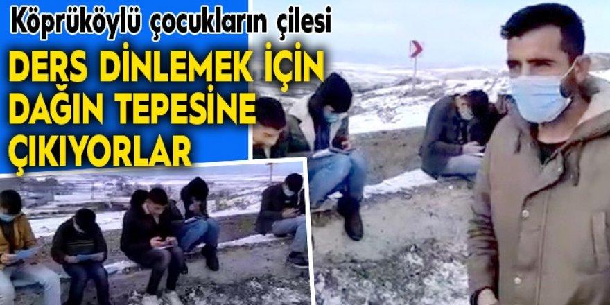 Erzurumlu çocuklar okumak istiyor...