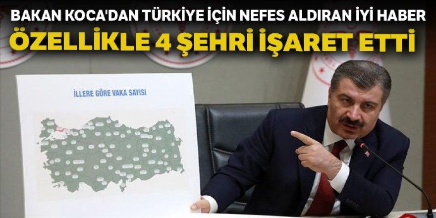 Bakan Fahrettin Koca'dan Türkiye için nefes aldıran iyi haber!