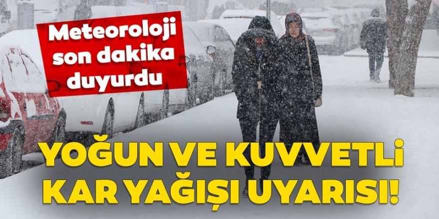 Doğu Anadolu'da 2 ilde Doğu Anadolu'da 2 ilde karla karışık yağmur ve kar bekleniyor
