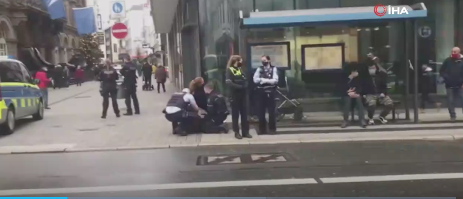 Almanya'da başörtülü kadına şiddete polisten ilk açıklama