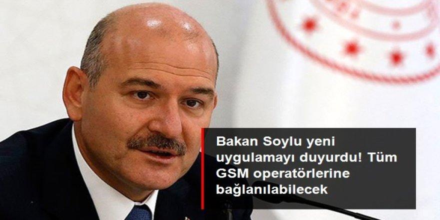 Bakan Soylu tüm operatörlere bağlanabilecek bir AFAD uygulaması yapılacağını duyurdu