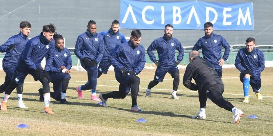 Erzurumspor'da Medipol Başakşehir maçı hazırlıkları