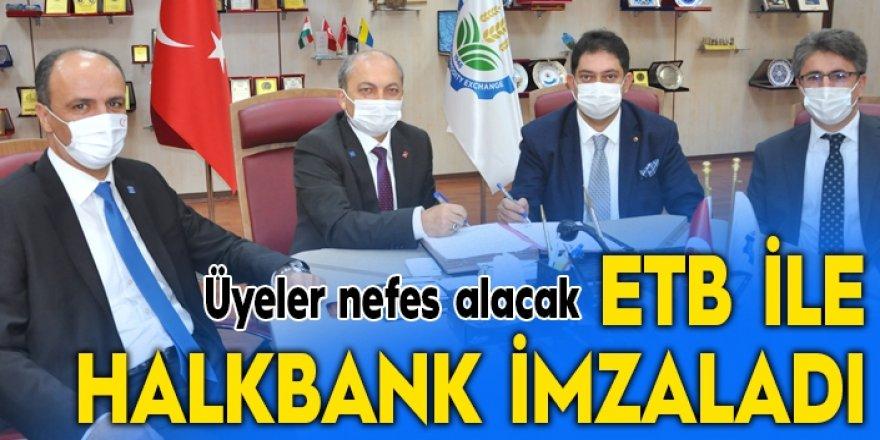 ETB ile Halkbank imzaladı