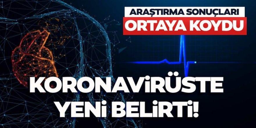 Koronavirüs belirtilerine bir yenisi eklendi!
