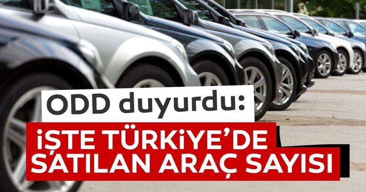 İşte 2020'de Türkiye'de satılan araç sayısı...