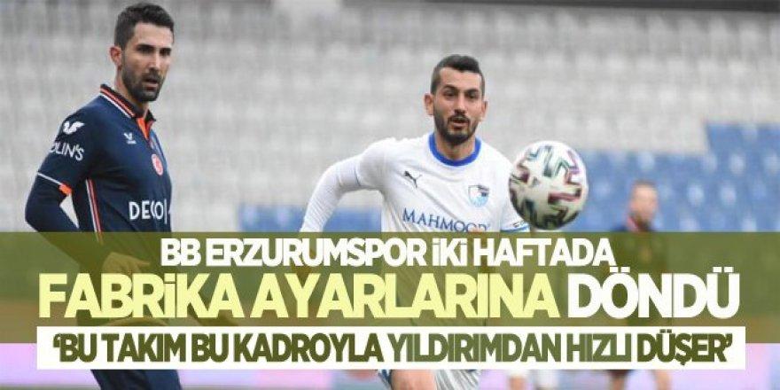 Erzurumspor eli boş dönüyor