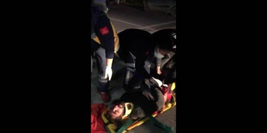 Bodrum'da yolun karşısına geçmeye çalışan gence otomobil çarptı: 1 ağır yaralı