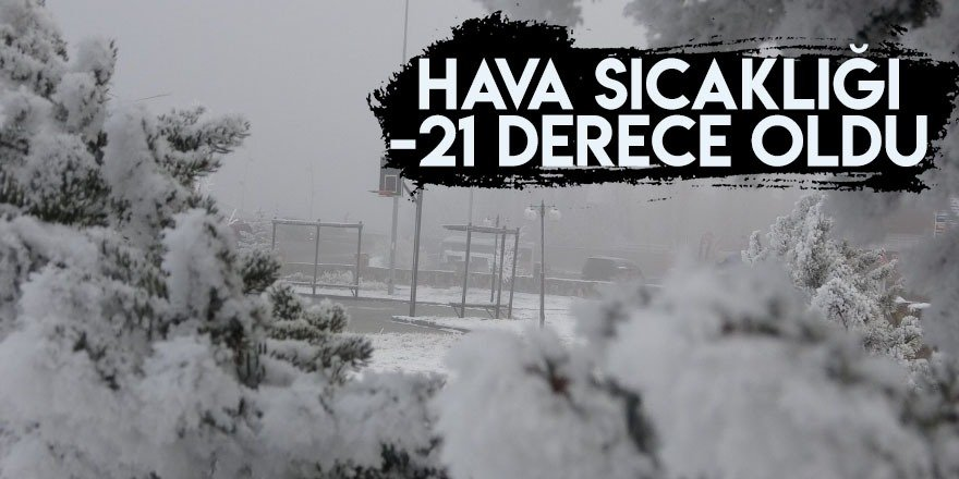 İşte Türkiye'nin en soğuk ilçesi