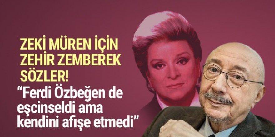 Özdemir Erdoğan'dan Zeki Müren hakkında olay sözler