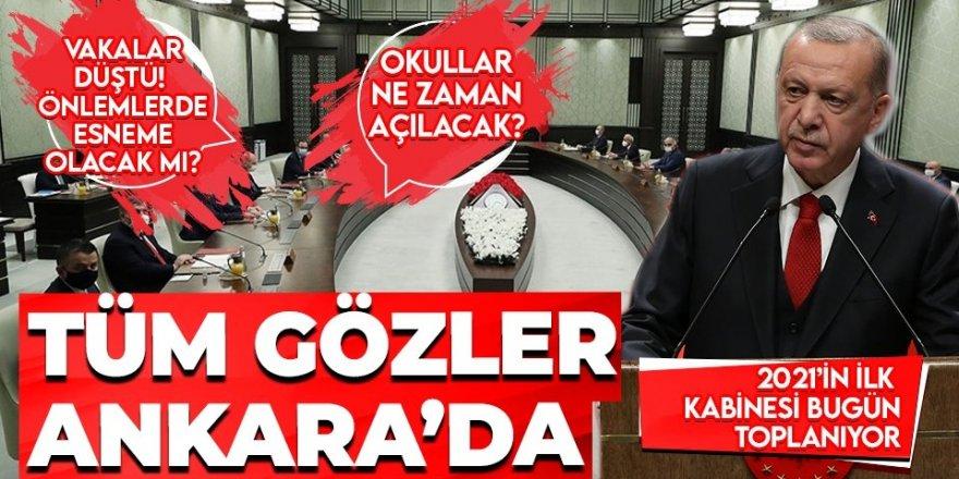 Yılın ilk kabine toplantısı Erdoğan liderliğinde bugün yapılacak