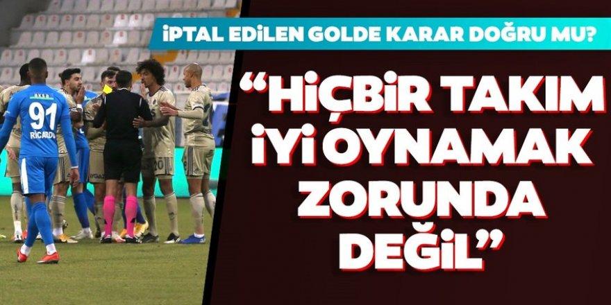 Erzurumspor - Fenerbahçe maçında iptal edilen gol doğru mu?
