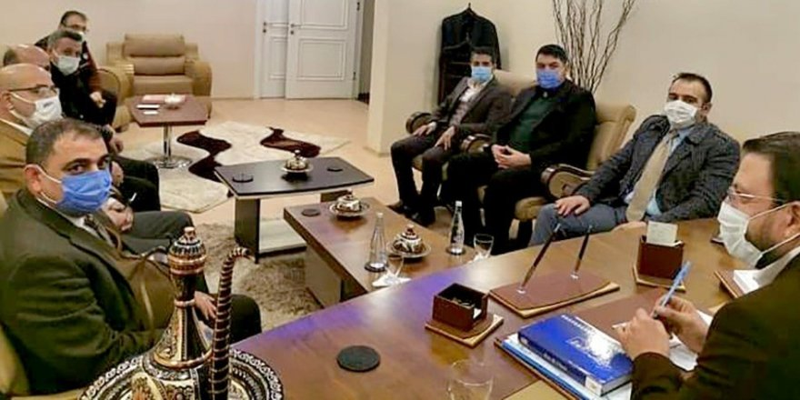 Refah'tan Palandöken AK Parti'ye ziyaret