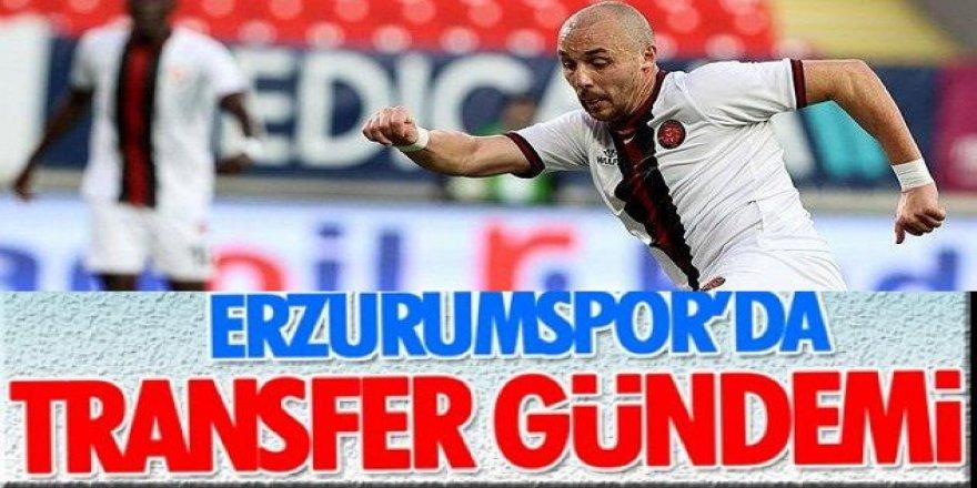 Erzurum'da şov başladı.