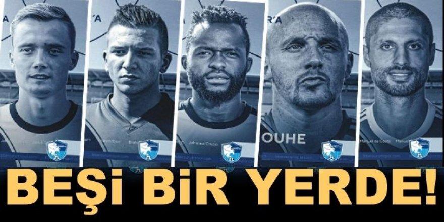 Erzurumspor 5 futbolcuyu kadrosuna kattı