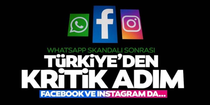 Whatsapp skandalı sonrasında Türkiye'den Instagram ve Facebook adımı