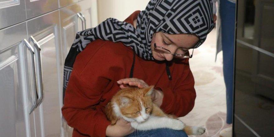 Hayrunnisa'ya kedi sürprizi