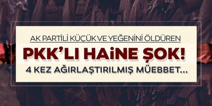 PKK'lı Katil, mahkemede de rahat durmuyor!