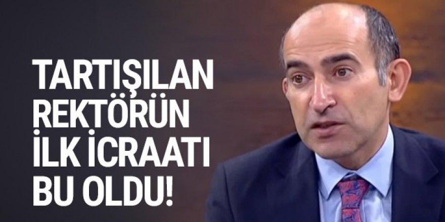 Boğaziçi Üniversitesi Rektörü Melih Bulu'nun ilk icraatı belli oldu