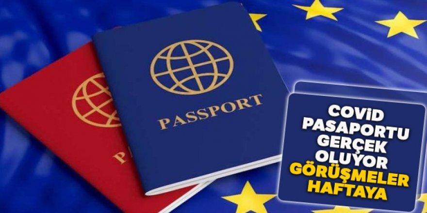 Covid pasaportu gerçek oluyor: Görüşmeler haftaya