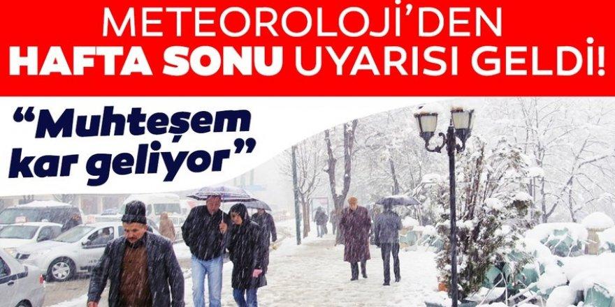 Doğu Anadolu'daki 7 ilde kar yağışı etkisini sürdürecek