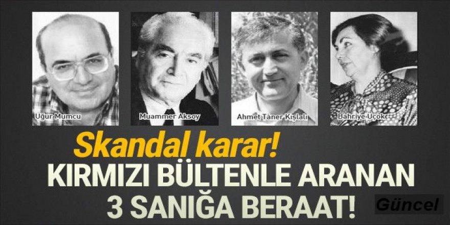 Uğur Mumcu'ya suikast davasında skandal karar