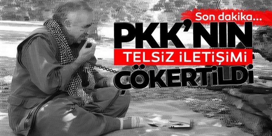 PKK'nın telsiz iletişimi çökertildi