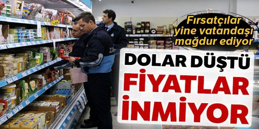 Dolar düştü, fiyatlar inmiyor!