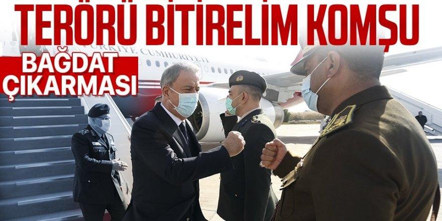 Türkiye'den Irak'a kritik ziyaret!