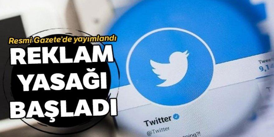 Temsilci atamayan sosyal medya ağlarına reklam yasağı başladı