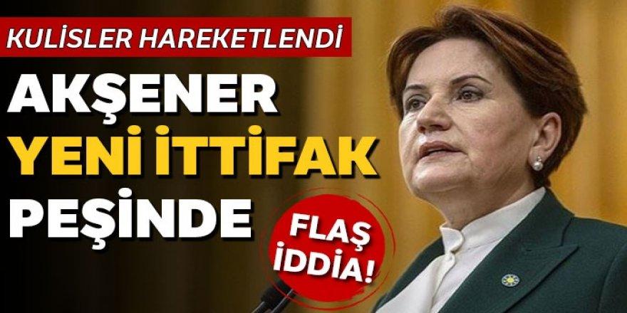 'Akşener yeni ittifak peşinde' iddiası