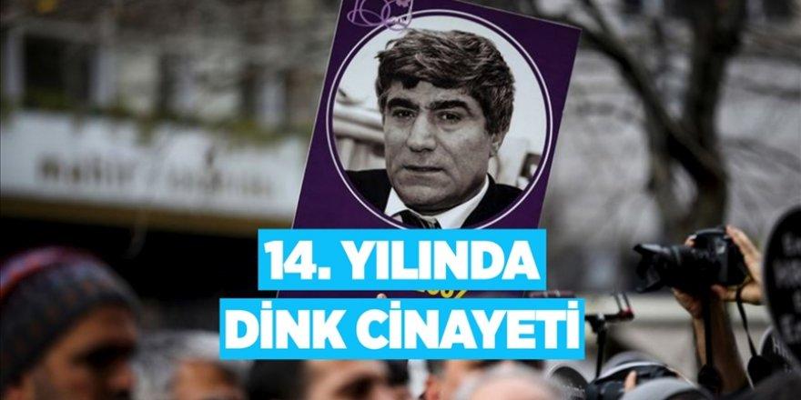 14. yılında Hrant Dink cinayeti
