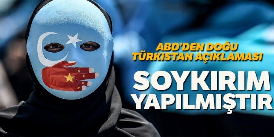 Mike Pompeo: Çin, Uygur Özerk Bölgesi'nde soykırım yapmıştır