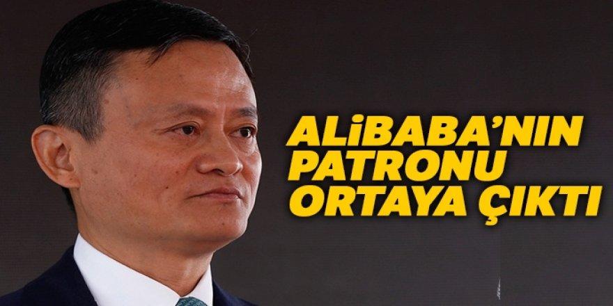 Alibaba'nın patronu ortaya çıktı