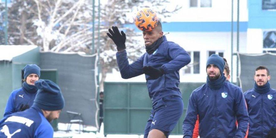 Erzurumspor, Alanyaspor maçının hazırlıklarını tamamladı