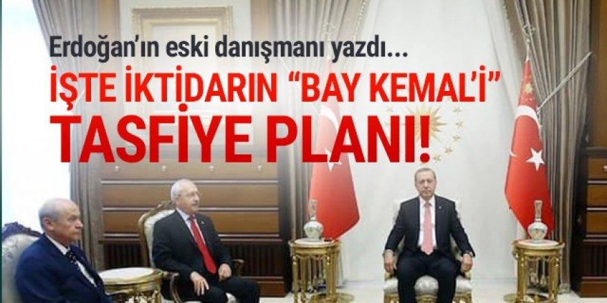 Erdoğan'ın eski danışmanı yazdı; iktidarın Kılıçdaroğlu'nu tasfiye planı!