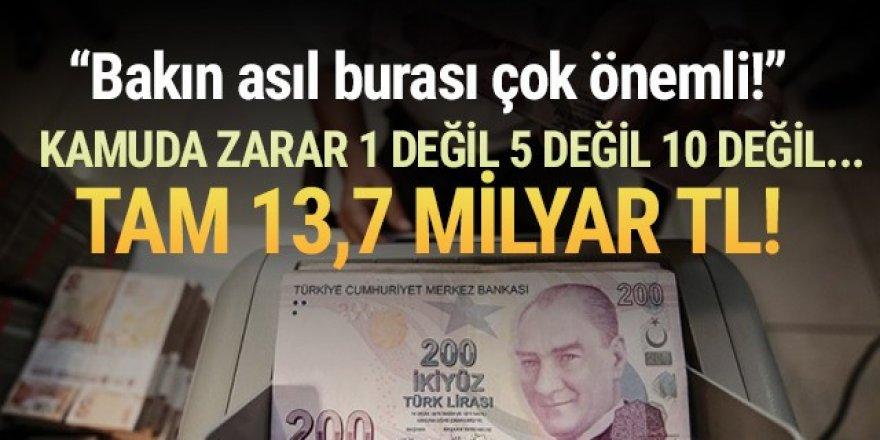 23 kamu işletmesinin zararı 13,7 milyar TL'ye dayandı!