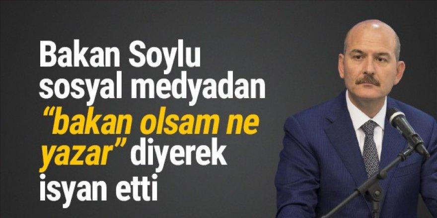 Bakan Soylu isyan etti: ''Anneme küfür edip serbest kaldı''