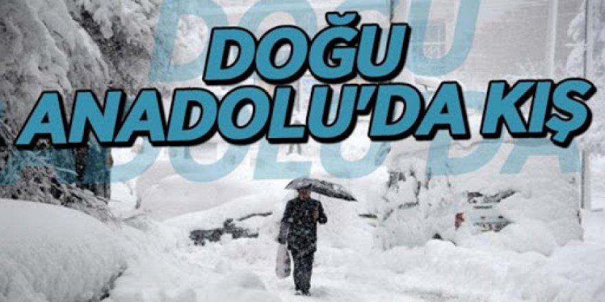 Doğu'da dondurucu soğuklar yaşamı olumsuz etkiliyor
