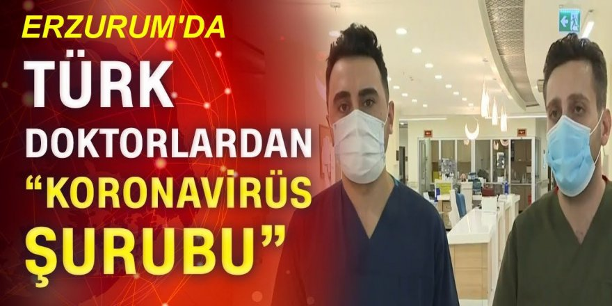 Erzurum'da 150 sağlıkçı gönüllü oldu!