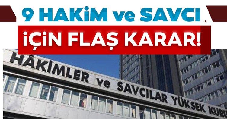 HSK'dan 9 Hakim ve Savcı'ya ihraç kararı
