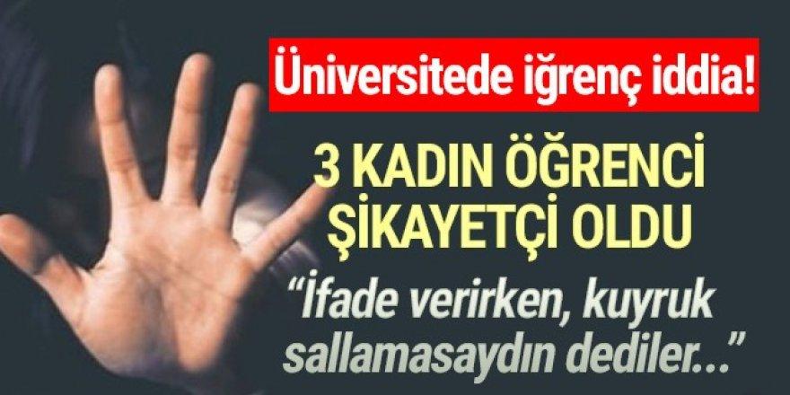 'Taciz mağduruyuz'' diyen 3 öğrenci adalet arıyor!