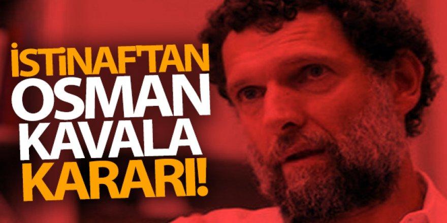 Osman Kavala dahil 9 sanığın beraat kararları bozuldu
